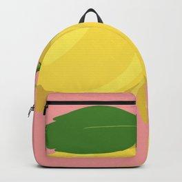 Lemon Salmon Backpack