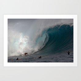 HAWAII'S MARK HEALEY  Art Print