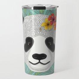 Tropical Panda Travel Mug