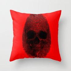 Identity theft Throw Pillow