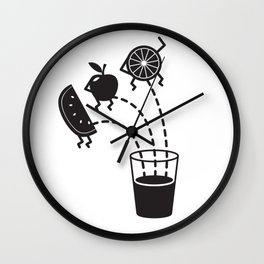 Fruit Pee Wall Clock