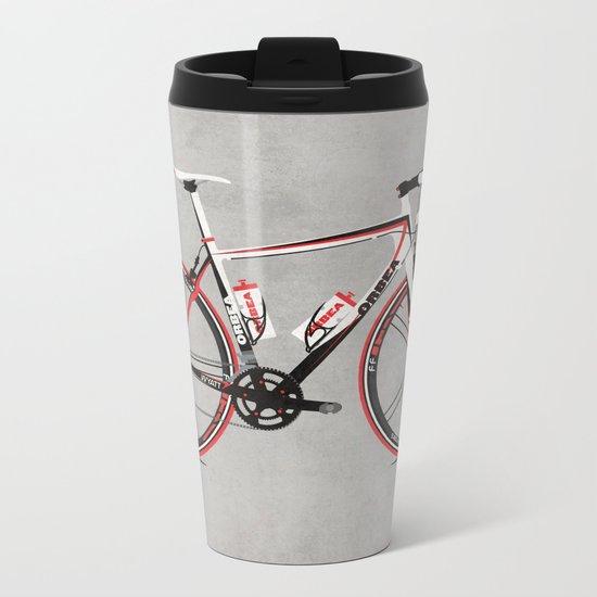 Race Bike Metal Travel Mug