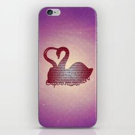 It's True Love iPhone Skin