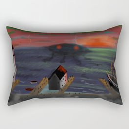 Whispers On The Waves Rectangular Pillow