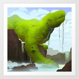 Jungle Giant Art Print