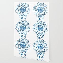 Brainstorm Blue Wallpaper