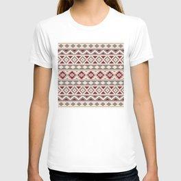 Aztec Essence Ptn IIIb Red Cream Taupe T-shirt