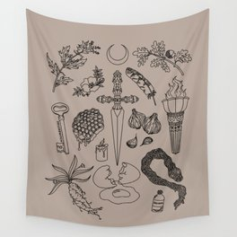 An Offering for Hecate (Hekate) Wall Tapestry