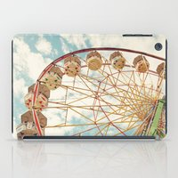 ferris wheel iPad Cases featuring ferris wheel by Sylvia Cook Photography