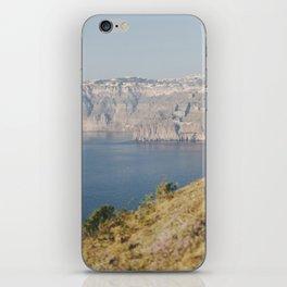 Santorini - Caldera I iPhone Skin