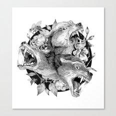 Cerberus Canvas Print