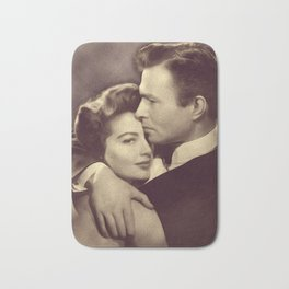 Ava Gardner and James Mason Bath Mat