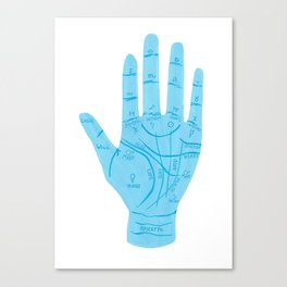 The Art Of Palmistry Canvas Print
