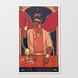 MAGICIAN'S RED (II) Canvas Print