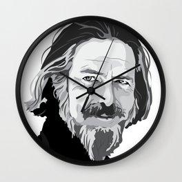 Alan Watts Wall Clock