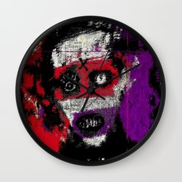 God of Fuck Wall Clock