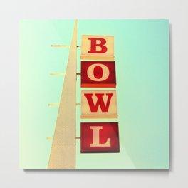 Bowl! Metal Print