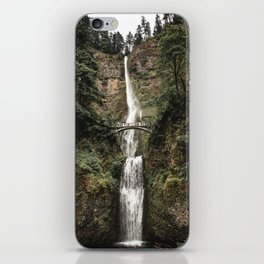 MULTNOMAH FALLS iPhone Skin