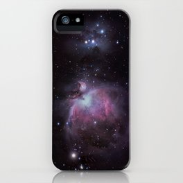 The Orion Nebula and The Running Man iPhone Case