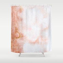 stained fantasy reddish veins Shower Curtain
