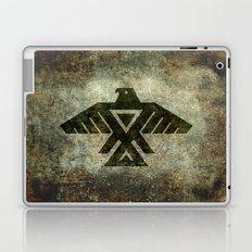 Thunderbird flag - Vintage grunge version Laptop & iPad Skin