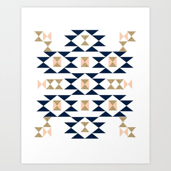 Jacs - Modern pattern design in aztec themed pattern ...