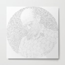 [De]generated ArcFace - Hunter S. Thompson Metal Print