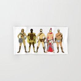 5 Gladiators and Warriors Hand & Bath Towel