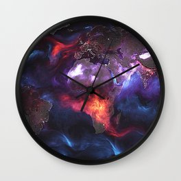 Beauty of Pollution Wall Clock