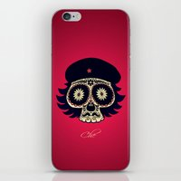 che iPhone & iPod Skins featuring Che by mangulica