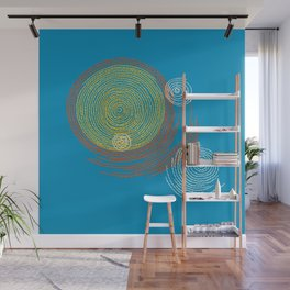 Stitches - Solar flare Wall Mural