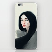 witch iPhone & iPod Skins featuring Witch by Ulfvidh