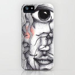 Cyclops Girl  iPhone Case
