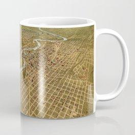 Map Of Spokane 1908 Coffee Mug