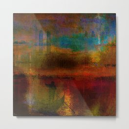 The return of the gondolier Metal Print