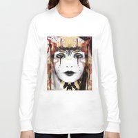 tribal Long Sleeve T-shirts featuring Tribal by Sonya Parra