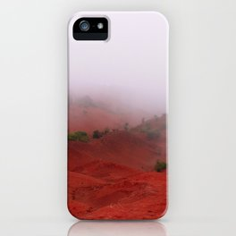 Red Land iPhone Case
