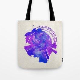Sydney, Australia Colorful Skyround / Skyline Watercolor Painting Tote Bag
