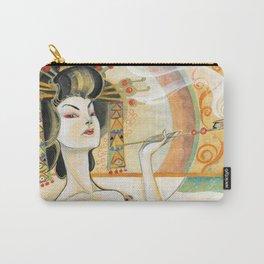 Klimt Oiran Carry-All Pouch