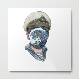 little sailor Metal Print