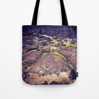 hawaii Tote Bags featuring Hawaii by Slow Toast