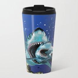 Sharkioska Metal Travel Mug