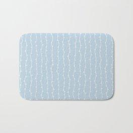 Willow Stripes - Ice Blue Bath Mat