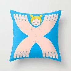 I´m a girl Throw Pillow