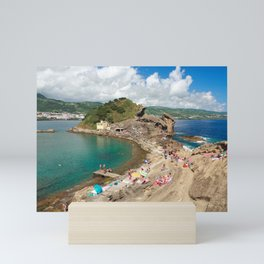 Islet of Vila Franca do Campo Mini Art Print