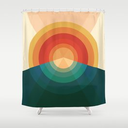 Sonar Shower Curtain