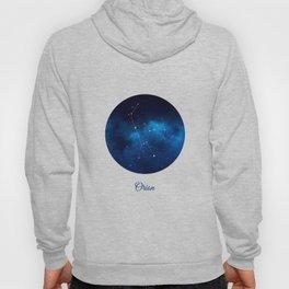 Orion Constellation Dark blue night Hoody