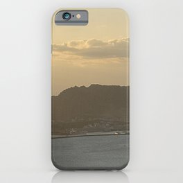Sunrise of Seongsan as seen from Jimibong in Seongsan, Jeju. korea iPhone Case