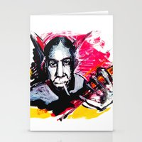 allyson johnson Stationery Cards featuring Robert Johnson by Matteo Lotti