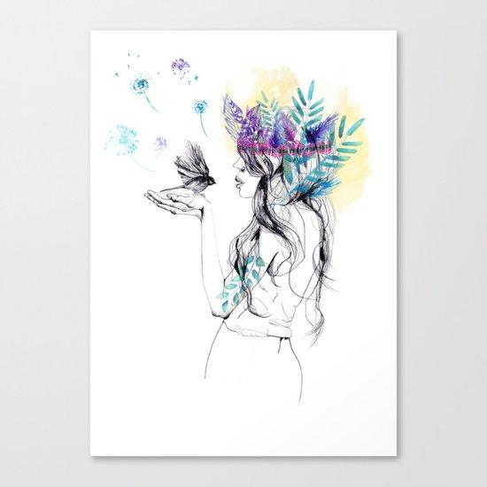 Nature Girl Canvas Print